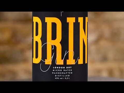 Spirits Packaging winner: BRIN Gin