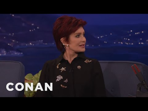 Sharon Osbourne's Sexy Punishment For A Cheating Ozzy  - CONAN on TBS