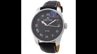 Видео обзор наручных часов VECTOR 0845151-V8