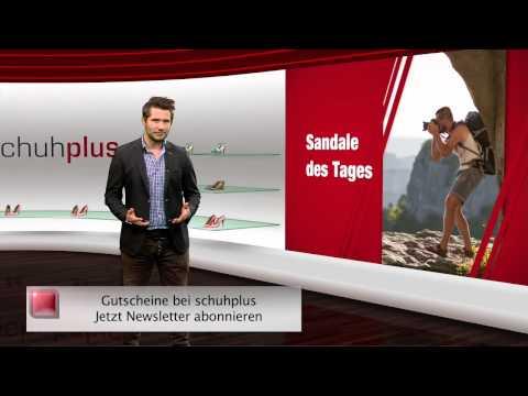 Herren Sandalen in Übergrößen. Große Herrenschuhe bei schuhplus. Schuh des Tages - 01.12.2014