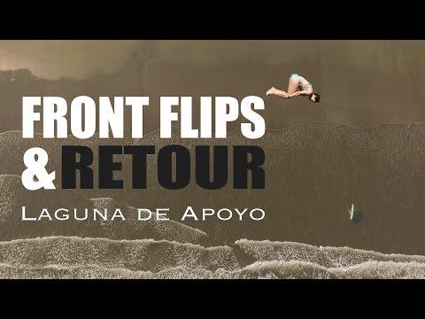 BEACH DAY et CERVEZAS à Laguna de Apoyo (Granada, Nicaragua) | Alex & MJ - On the GO