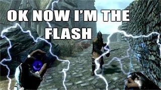 Flash Mod Skyrim Remastered Xbox One Console Mod!