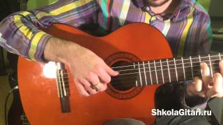 Eagles Hotel California ВидеоУрок Как играть на гитаре