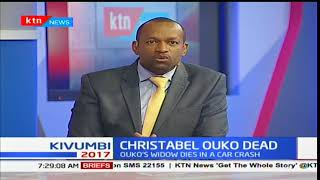 Christabel Ouko, the widow of the late Robert Ouko dies in a road accident