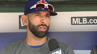 Bautista talks about playing his 1,000th game as a Toronto Blue Jay by Sportsnet Canada