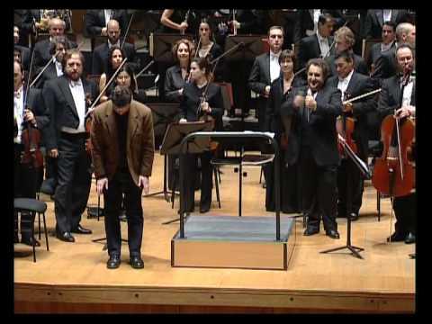 """THEY HEAR NO ANSWERING STRAIN"""", Orquesta Sinfónica de Galicia"""