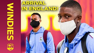 Arrival in England Ahead of Historic Tour! | Behind The Scenes on the journey | Windies