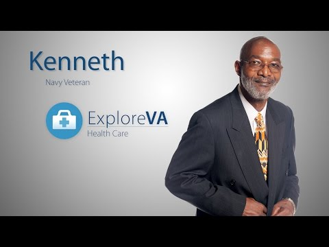 Kenneth overcame homelessness with VA help.