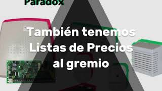 En One First Security te recordamos que somos Distribuidores de Alarmas PARADOX