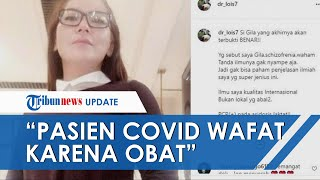 Profil dr Lois Owien, Dokter Kontroversial yang Tak Percaya Covid-19, Sebut Pasien Wafat karena Obat
