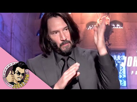 JOHN WICK 3 Interview (2019) Keanu Reeves