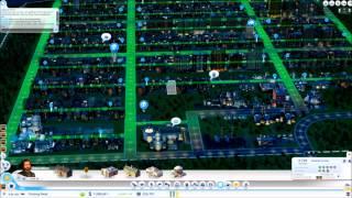 SimCity 2013 600k fast forward (10min version)