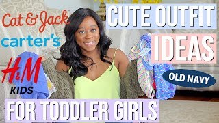 CUTEST SPRING/SUMMER OUTFITS FOR KIDS | HUGE TODDLER GIRL CLOTHING HAUL & OUTFIT IDEAS | NIA NICOLE