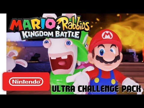 Mario + Rabbids Kingdom Battle Ultra Challenge Pack Trailer - Nintendo Switch