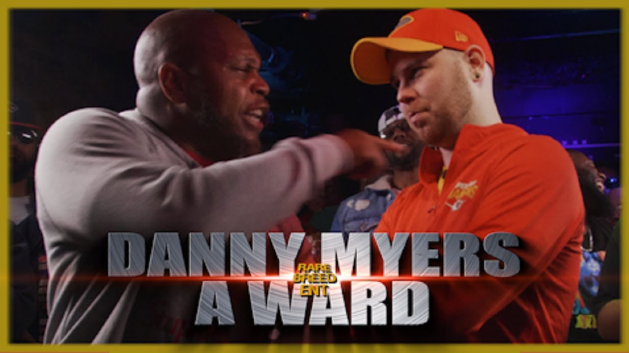 DANNY MYERS VS A WARD RAP BATTLE – RBE
