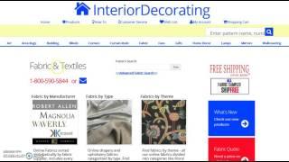 Quick Pattern Search - www.InteriorDecorating.com