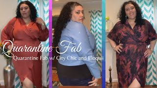 Quarantine Fabulous - With City Chic And Eloquii!!! #plussizefashion #citychic #eloquii #fatfitfab