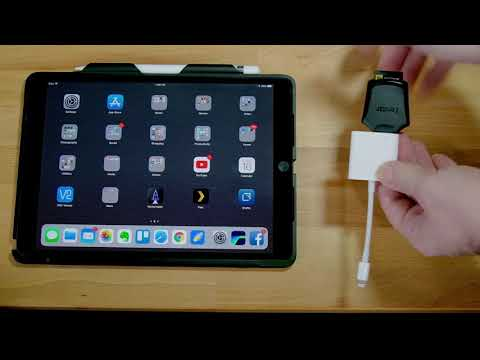 Fastest way to import SD cards on an iPad Pro
