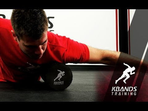 Chest Stretches With Deep Tissue Massage Foam Roller