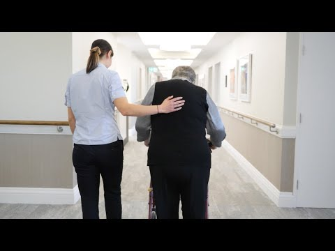 Aged care testimonial video
