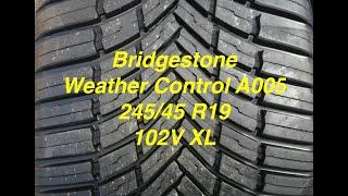 Bridgestone Weather Control A005 - All season tyres for Kia Sportage