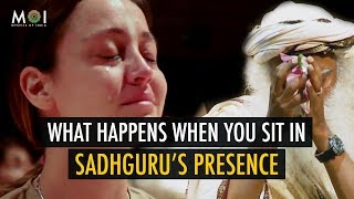 Overwhelming Experience In Presence of Sadhguru | Asatoma Sadgamaya - Moving From Untruth To Truth