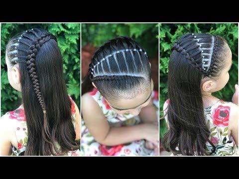 Peinado Para Ocasion Especial Trenza Puente Peinado Para Nina Facil