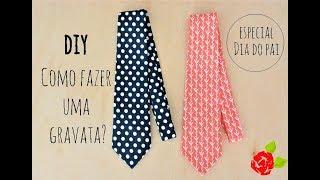 Como fazer uma gravata?