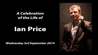 Memorial for Ian Price Musician