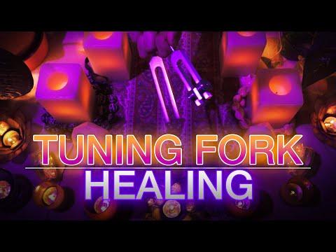 Tuning Fork Healing - 528Hz & 432Hz Tuning Forks (No Talking) Sleep | Meditation | Study | Healing