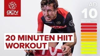 20 Minuten HIIT Workout zur effektiven Fettverbrennung | Indoor Cycling