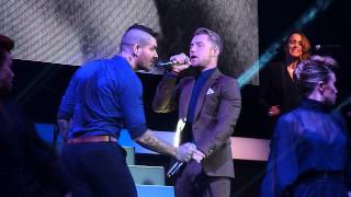 Boyzone -One More Song- Liverpool 8th December 2013