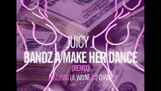 Juicy J - Bands A Make Her Dance [Screwed and Chopped] Remix feat Lil Wayne & 2 Chainz