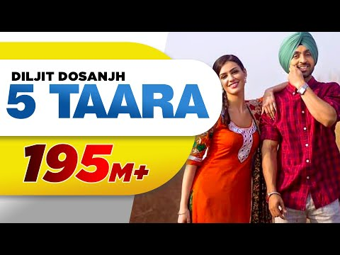5 Taara (Full Song) - Diljit Dosanjh | Latest Punjabi Songs 2015 | Speed Records