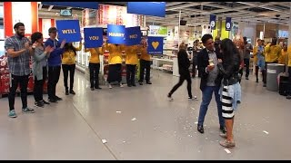 Perfect Proposal Flash Mob In IKEA!