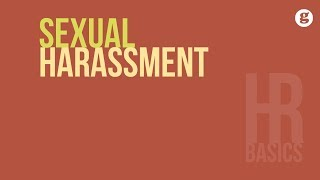 HR Basics: Sexual Harassment