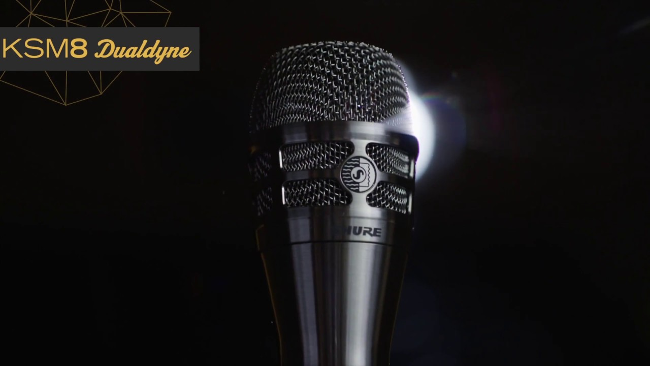 Shure KSM8 Dualdyne Gesangsmikrofon