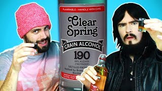 Irish People Try Americas Strongest Alcohol (95%, 190 Proof)