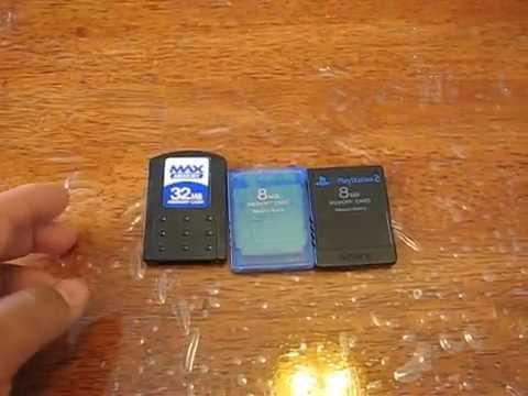 Accesorios;Tarjetas de memoria PS2