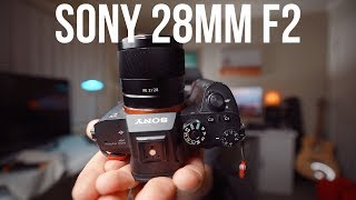 Sony 28mm f2 - Lens Review, one of my FAVOURITE Sony lenses ever!