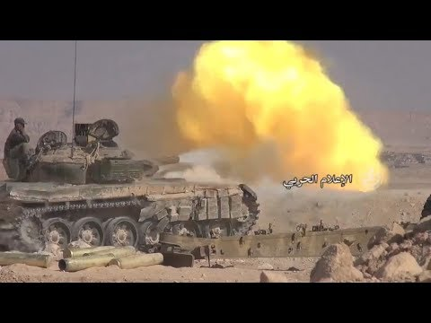 ISIS tried to block the Syrian army - Them !? support 30,000 Kurdish occupied land