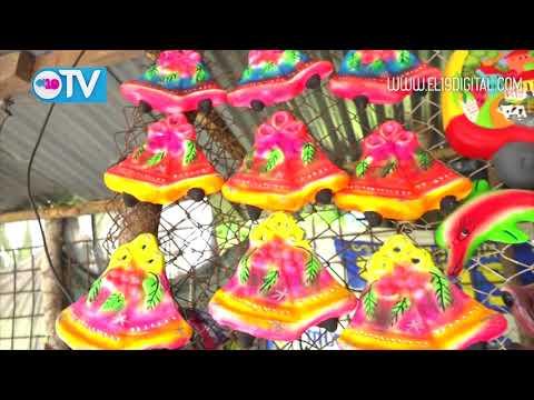 Creatividad e ingenio en adornos navideños elaboran artesanos de San Juan de Oriente y Catarina