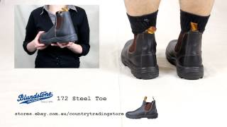 preview picture of video 'Blundstone 172 Steel Toe Safety Boot'