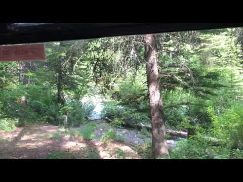 River view from inside my van