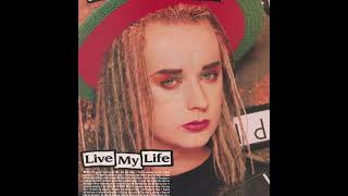Boy George LIVE MY LIFE rare remixes & vinyl only versions