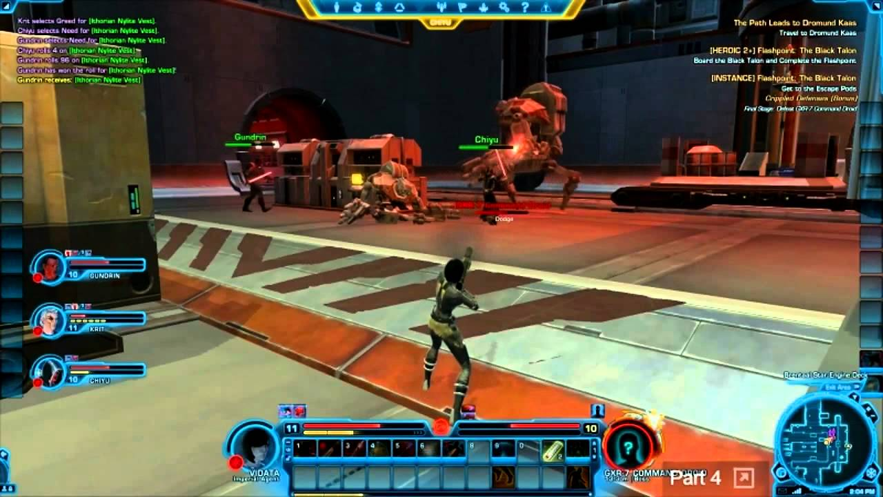 Game Face #14: Top Ten Reasons to Play SWTOR Pt 2