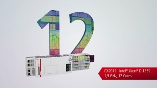 CX20x2 Embedded PC: 12 cores on the DIN rail