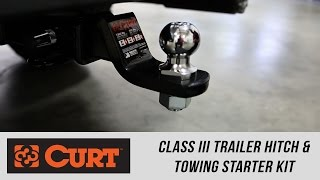 Freedom Ford: CURT Class 3 Trailer Hitch & Towing Starter Kit