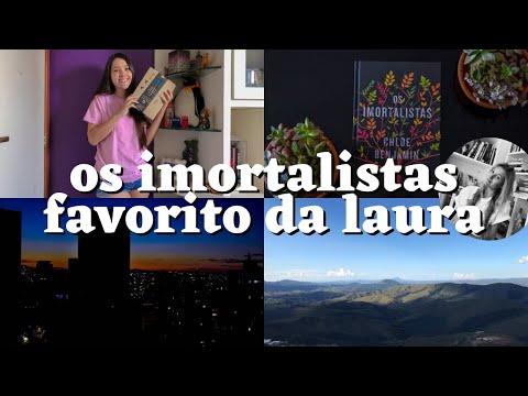 FAVORITO DOS BOOKTUBERS: LENDO OS IMORTALISTAS - Escritora Whovian