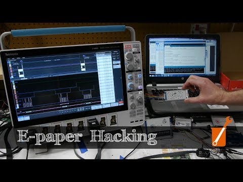 E-paper hacking: fastest possible refresh rate